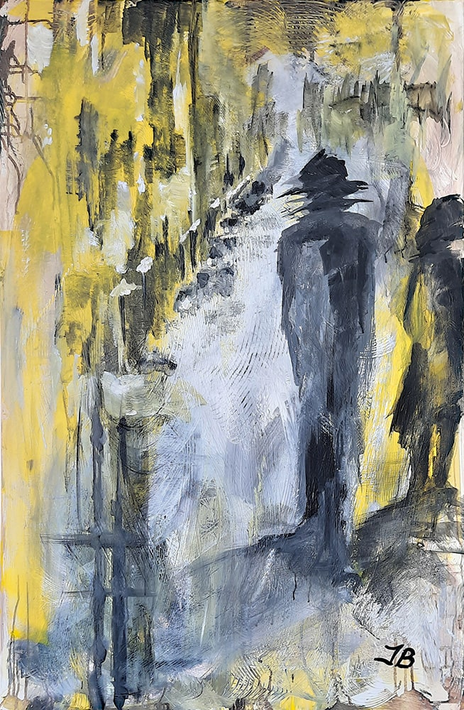 WALX · Acryl auf Leinwand · Format: 75 x 115 cm · Tiefe: 17 mm